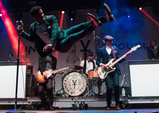 Vintage Trouble // photo by David Brendan Hall
