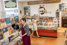 Harvest Records // Photo Via ExploreAsheville.com