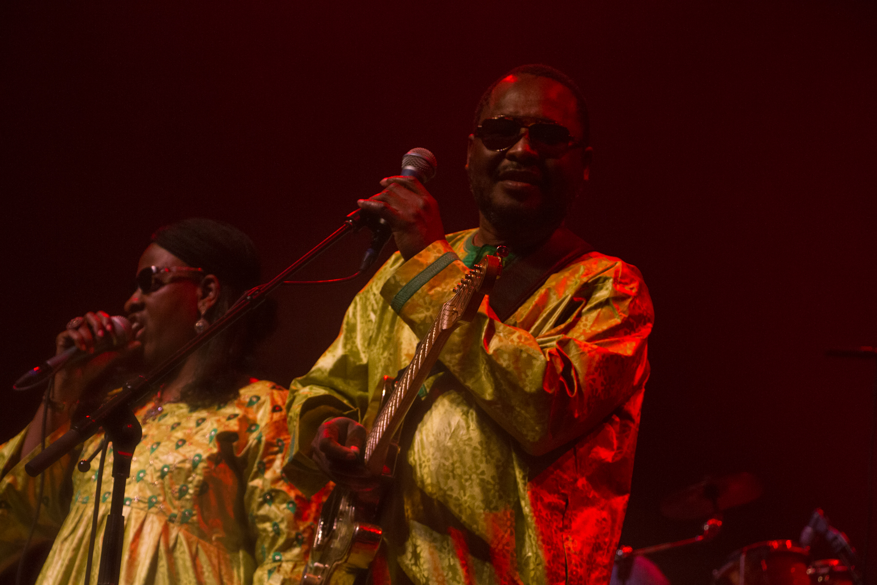 Amadou & Mariam // Photo by Lior Phillips