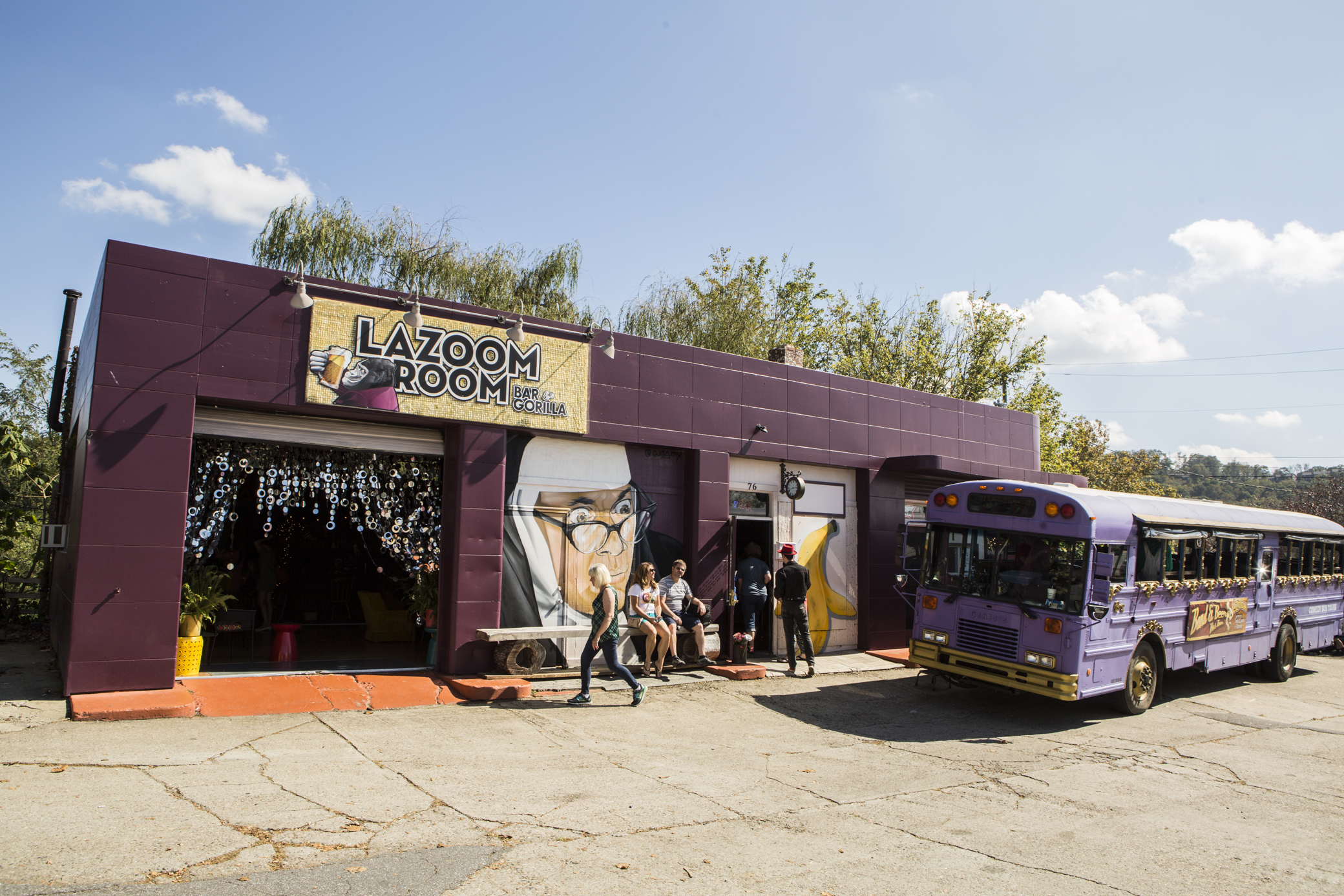 LaZoom Band and Beer Bus Tour // Photo by Philip Cosores