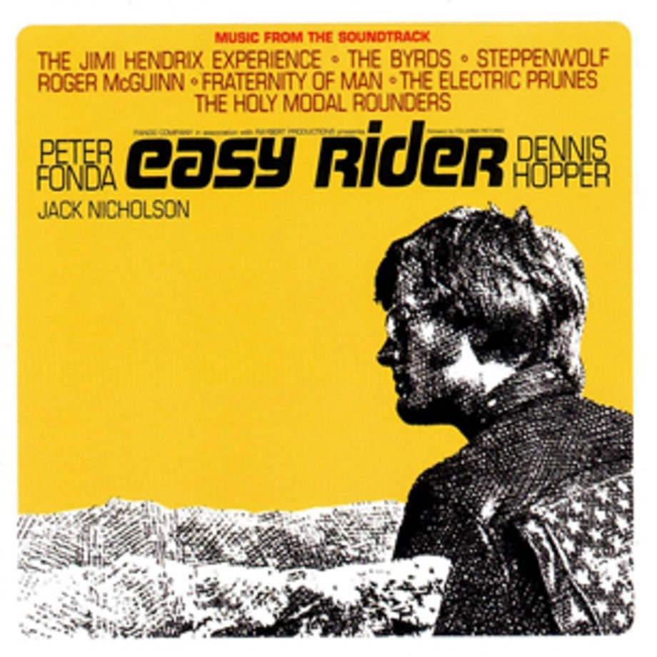 easy rider The 100 Greatest Movie Soundtracks of All Time