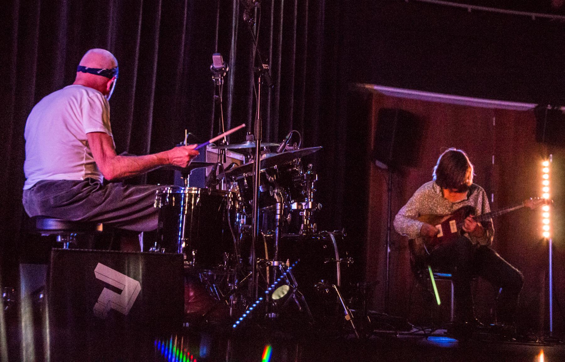 Han Bennink & Thurston Moore // Photo by Lior Phillips