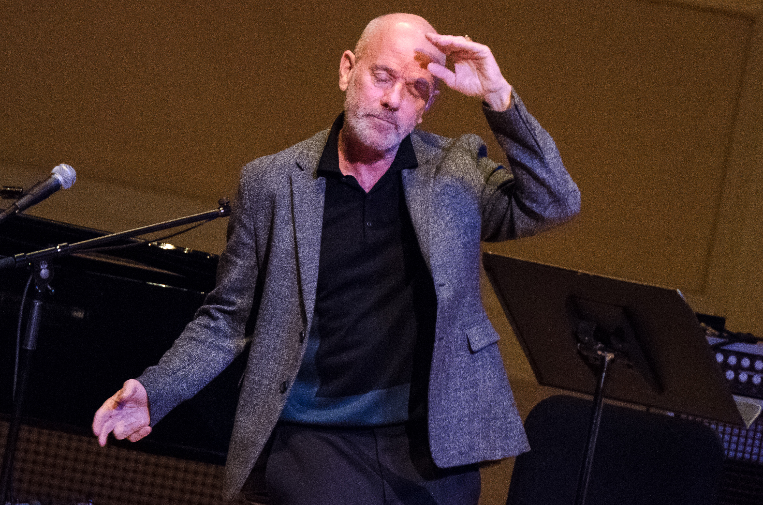 michael stipe pathway to paris ben kaye 6 Michael Stipe, Patti Smith, and Others Promote Climate Change Awareness at NYCs Carnegie Hall (11/5)