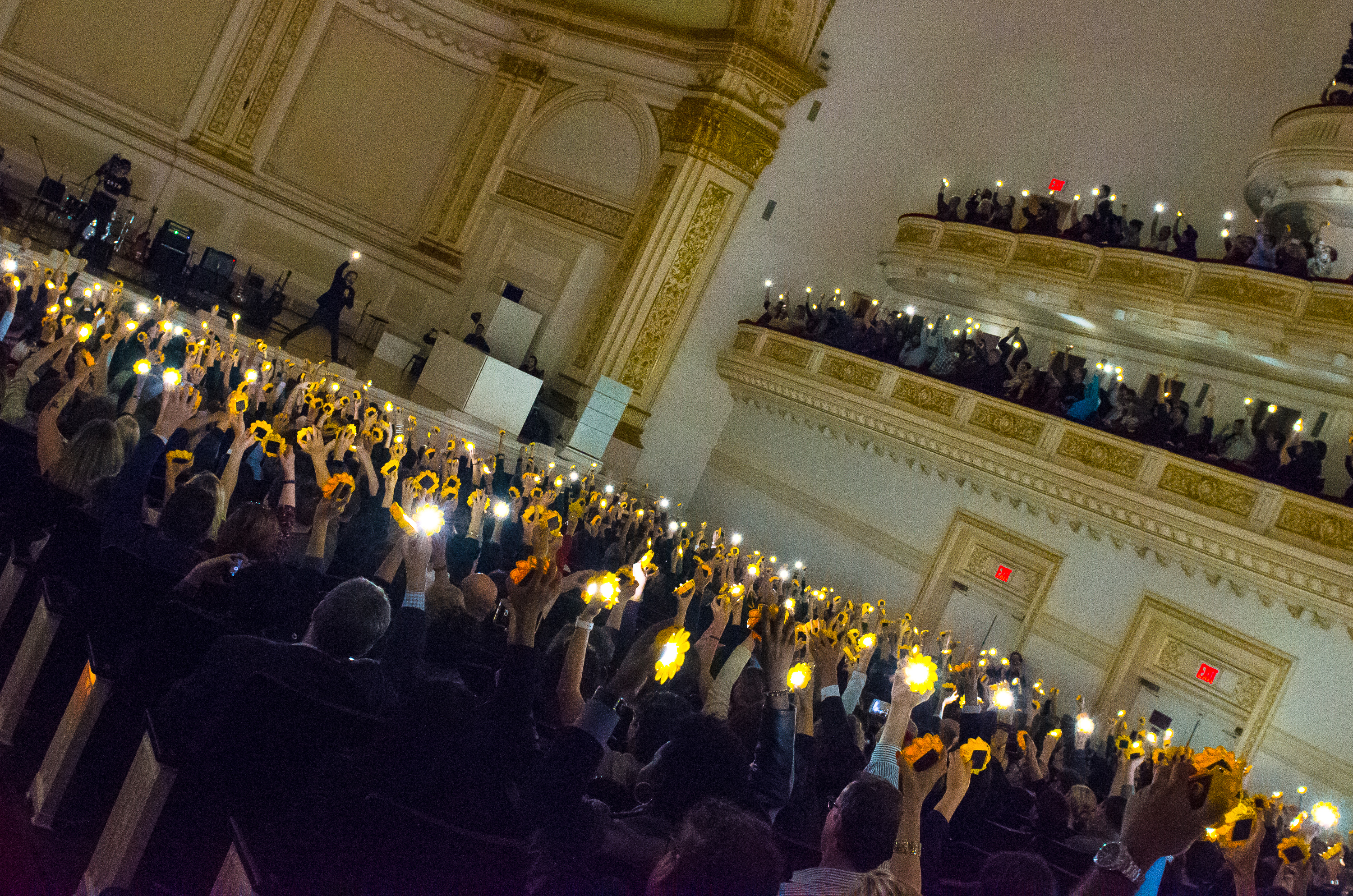olafur eliasson pathway to paris ben kaye 4 Michael Stipe, Patti Smith, and Others Promote Climate Change Awareness at NYCs Carnegie Hall (11/5)