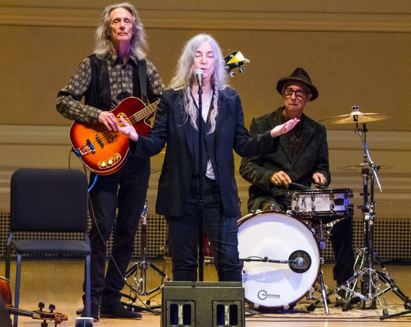 patti smith pathway to paris ben kaye 6 Michael Stipe, Patti Smith, and Others Promote Climate Change Awareness at NYCs Carnegie Hall (11/5)