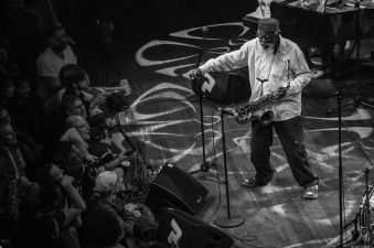 Pharoah Sanders // Photo by Lior Phillips