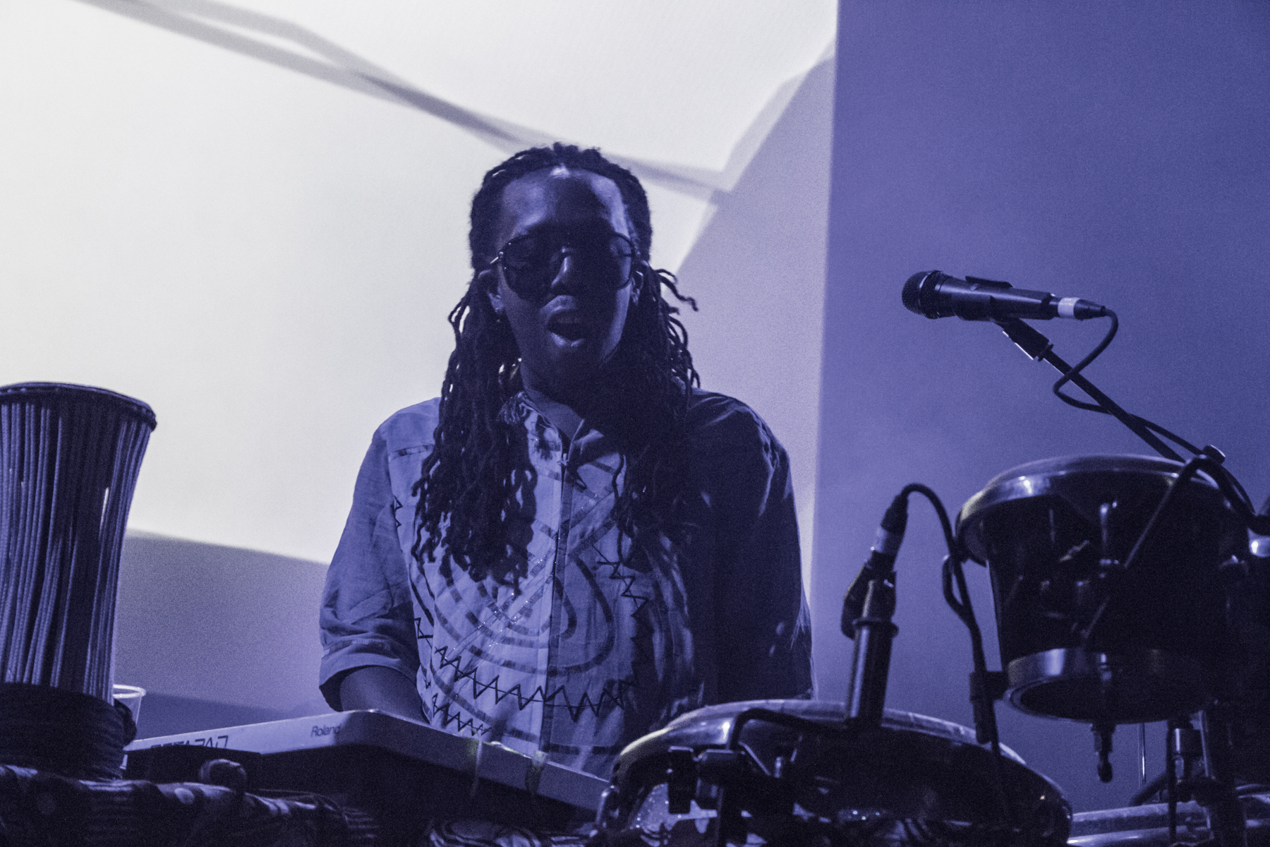 Shabazz Palaces // Photo by Lior Phillips