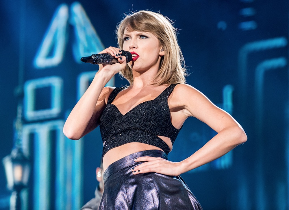 Taylor Swift, photo by David Brendan Hall
