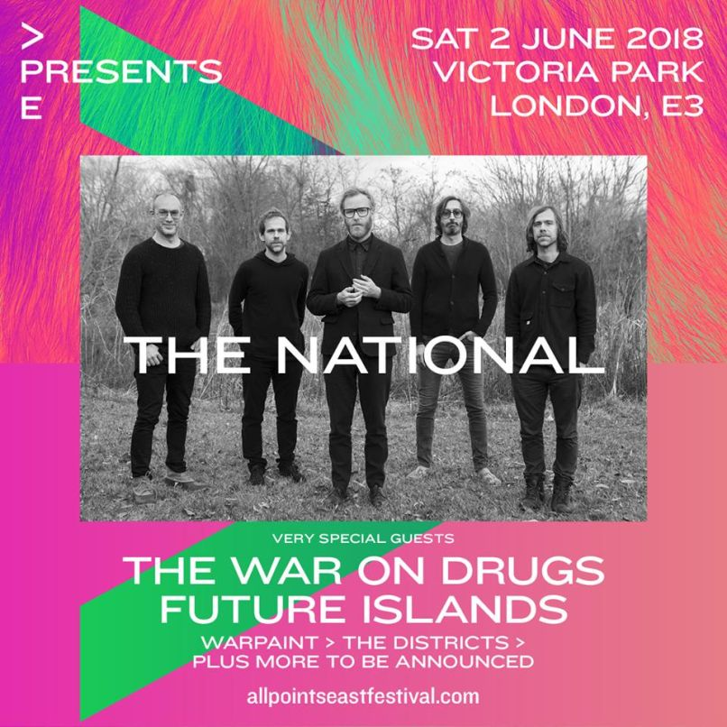 the national All Points Easts 2018 lineup is indieheads dream come true