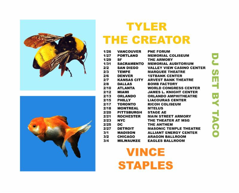 unnamed 86 Tyler, the Creator announces 2018 North American tour dates with Vince Staples