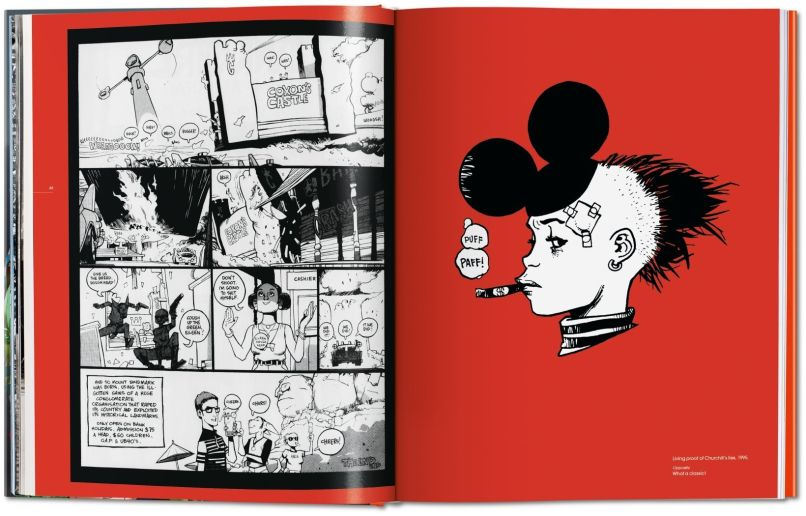va jamie hewlett image 01 04656 Gorillaz co founder Jamie Hewlett to release career spanning art book