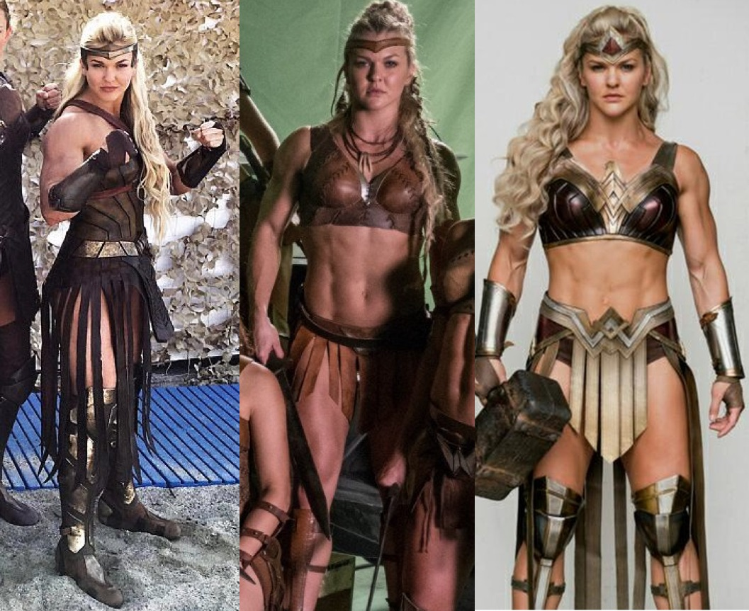 wonder woman costumes Wonder Womans Amazonians get much skimpier outfits for Justice League