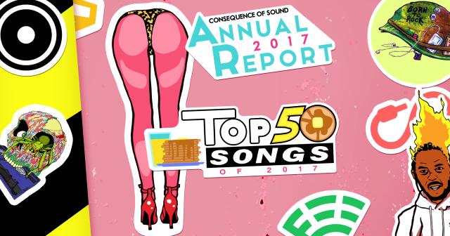 Top 50 Songs of 2017