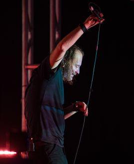 Thom Yorke // photo by David Brendan Hall