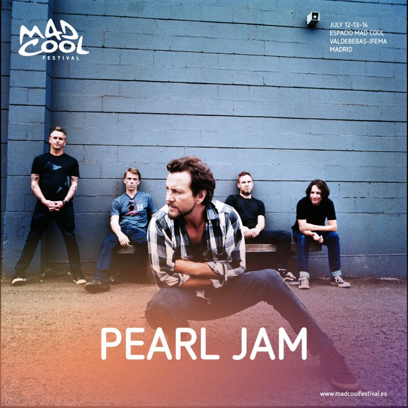 Pearl Jam join Mad Cool Festival's already epic 2018 lineup