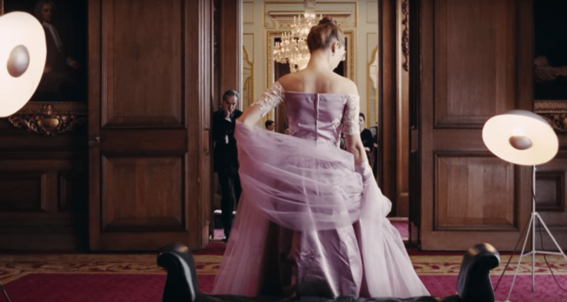phantom thread dress Phantom Threads Vicky Krieps on E mails, Mushrooms, and Her Outstanding Film Performance of the Year