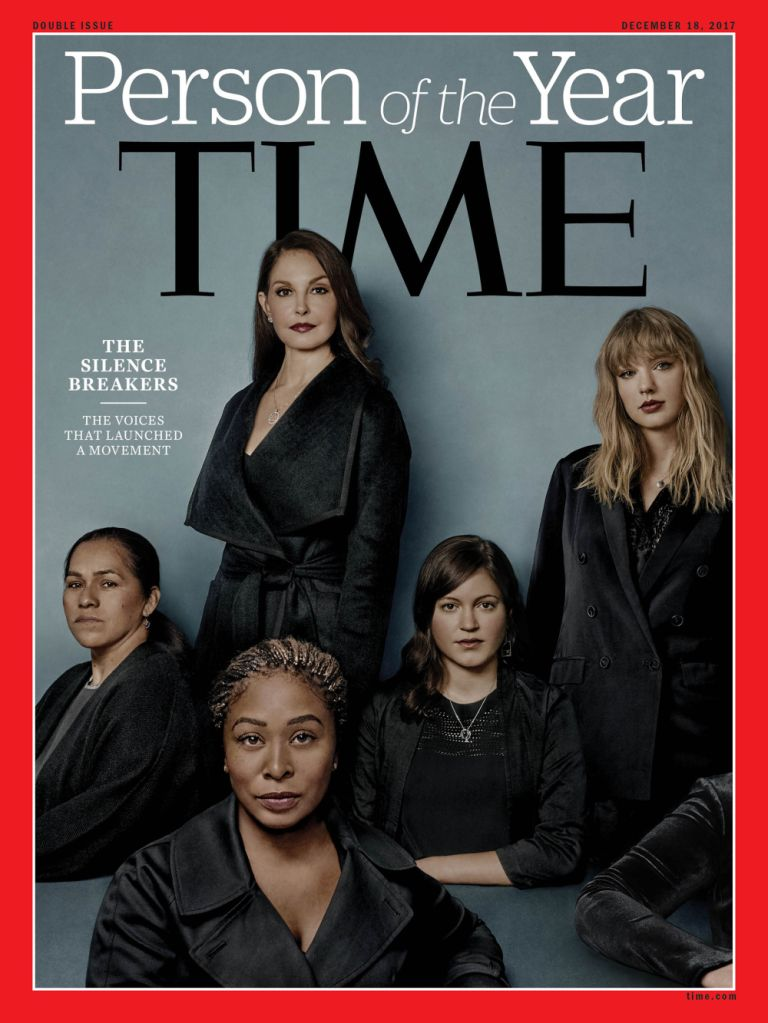 time magazine TIMEs Person of the Year are The Silence Breakers of #MeToo movement