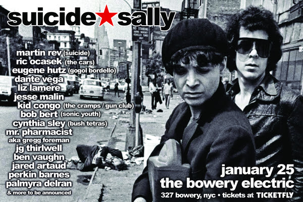 unnamed 22 Alan Vega tribute concert to feature Suicide bandmate Martin Rev, The Cars Ric Ocasek, Gogol Bordellos Eugene Hutz, and more