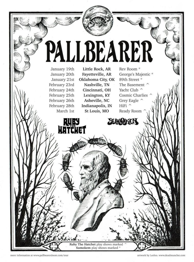 unnamed 36 Pallbearer announce 2018 North American tour