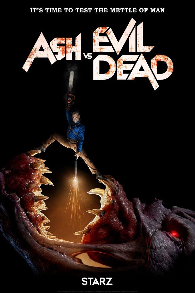 ash evil dead Ash Vs. Evil Dead delivers daddies, deadites, and A ha in third season trailer: Watch