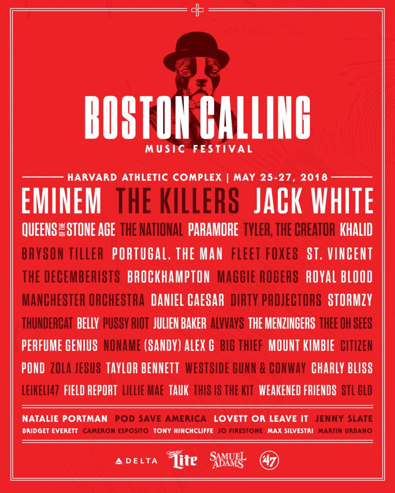 boston calling 2018 lineup admat The Big Four Shuffle: All Hail the New Music Festival Kings
