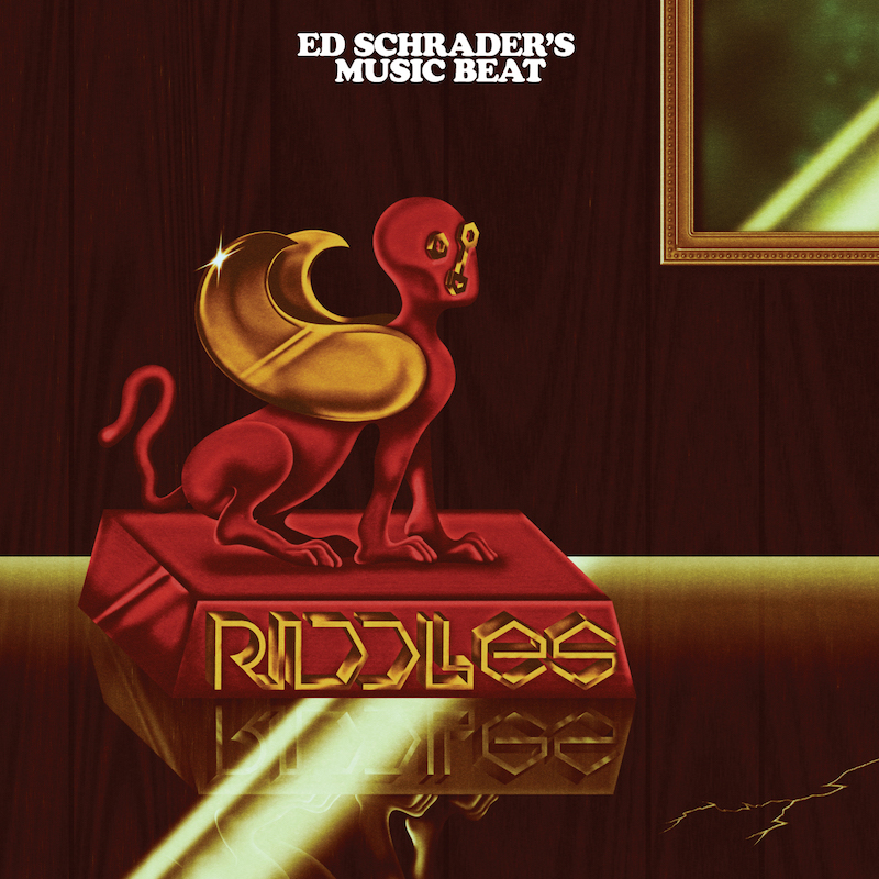 ed schraders music beat riddles artwork Ed Schraders Music Beat announce new, Dan Deacon produced album, Riddles