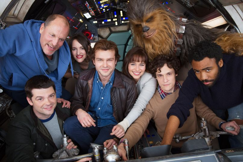 han solo cast picture The 25 Most Anticipated Movies of 2018