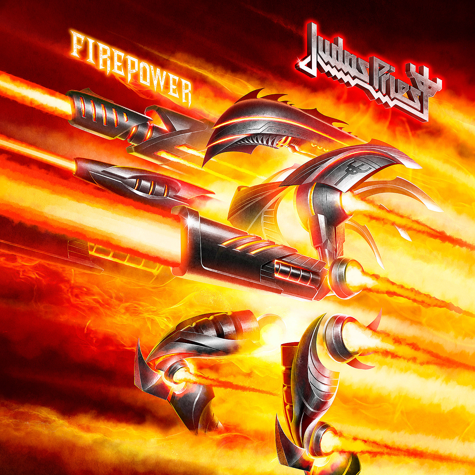 judas priest firepower Top 25 Metal + Hard Rock Albums of 2018