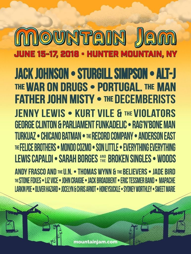 mountain jam1 Mountain Jam reveals 2018 lineup: alt J, The War on Drugs, Father John Misty, The Decemberists, and more