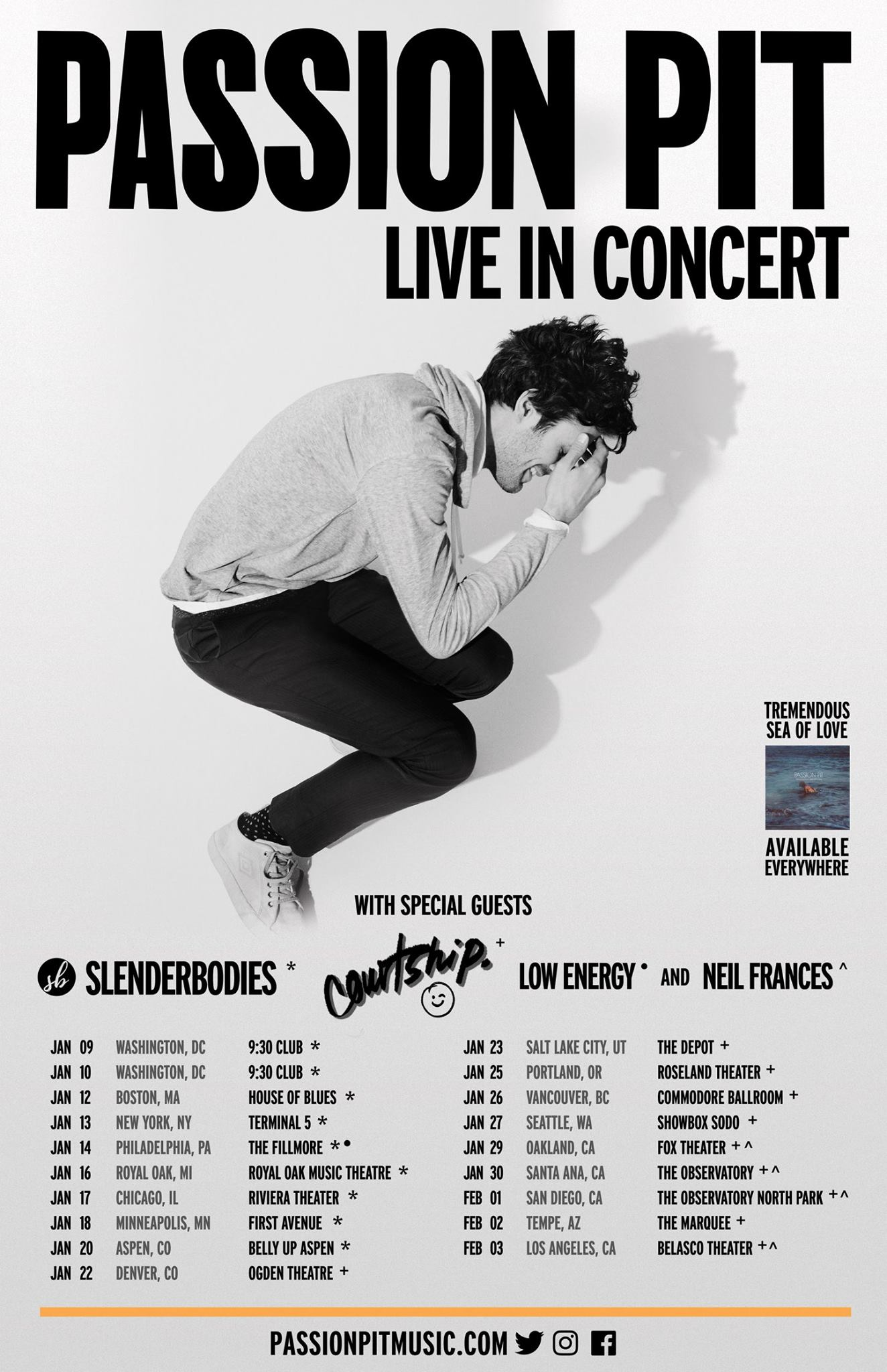 passion pit 2018 tour dates Passion Pits Michael Angelakos says he needs to tour to cover mental health medical costs
