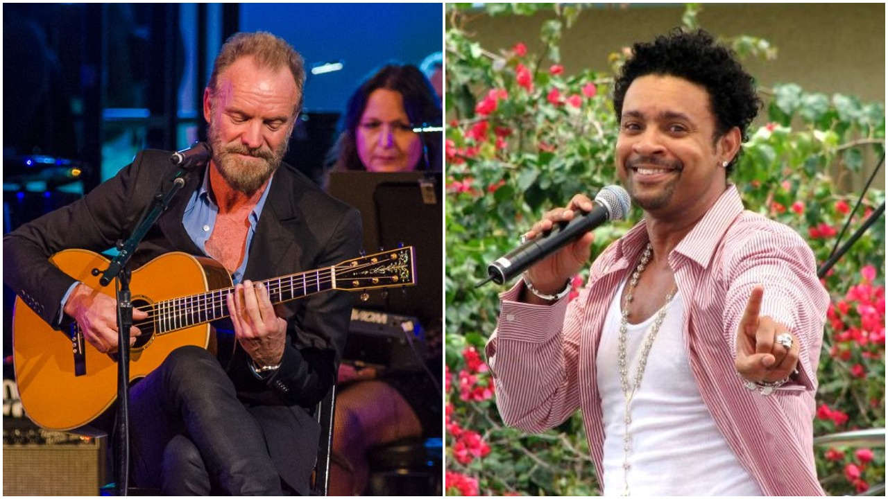 Sting and Shaggy made an entire album together and are releasing it