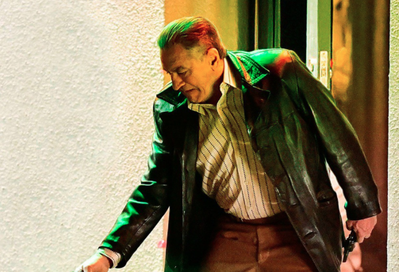 Here's the first official poster for Martin Scorsese's The Irishman