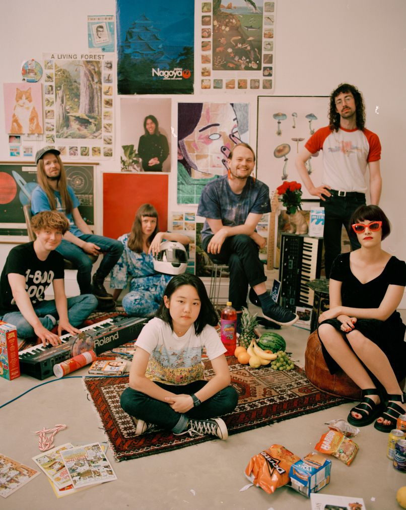superorganism band photo Artist of the Month Superorganism on Becoming a Band Before Ever Being in the Same Room