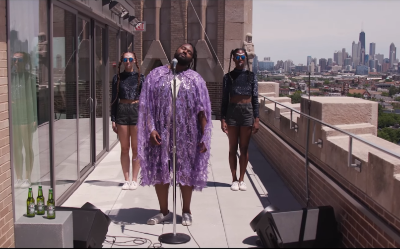 tunde 1 Tunde Olaniran and Heineken Crack Open the Chicago Skyline in New Video Hungry
