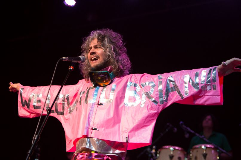The Flaming Lips, photo by Philip Cosores