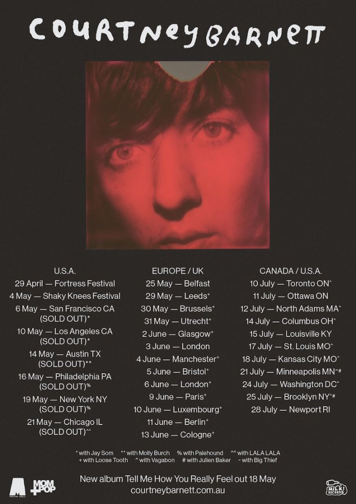 28238503 1756799391006864 2582907022118136382 o Courtney Barnett announces 2018 North American summer tour dates