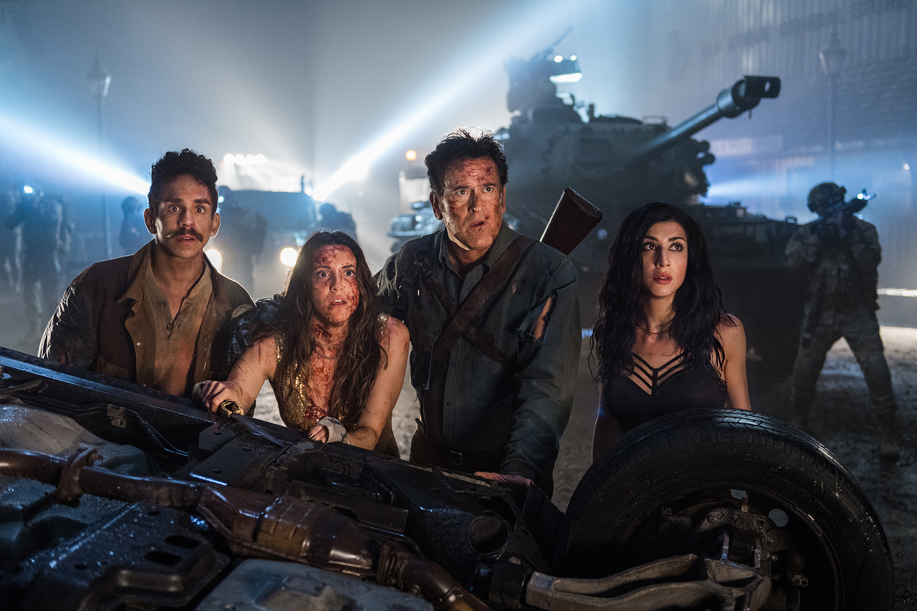 Ash vs Evil Dead Conjures Up Deadites, Daughters, and Semen for Its Wild Third Season