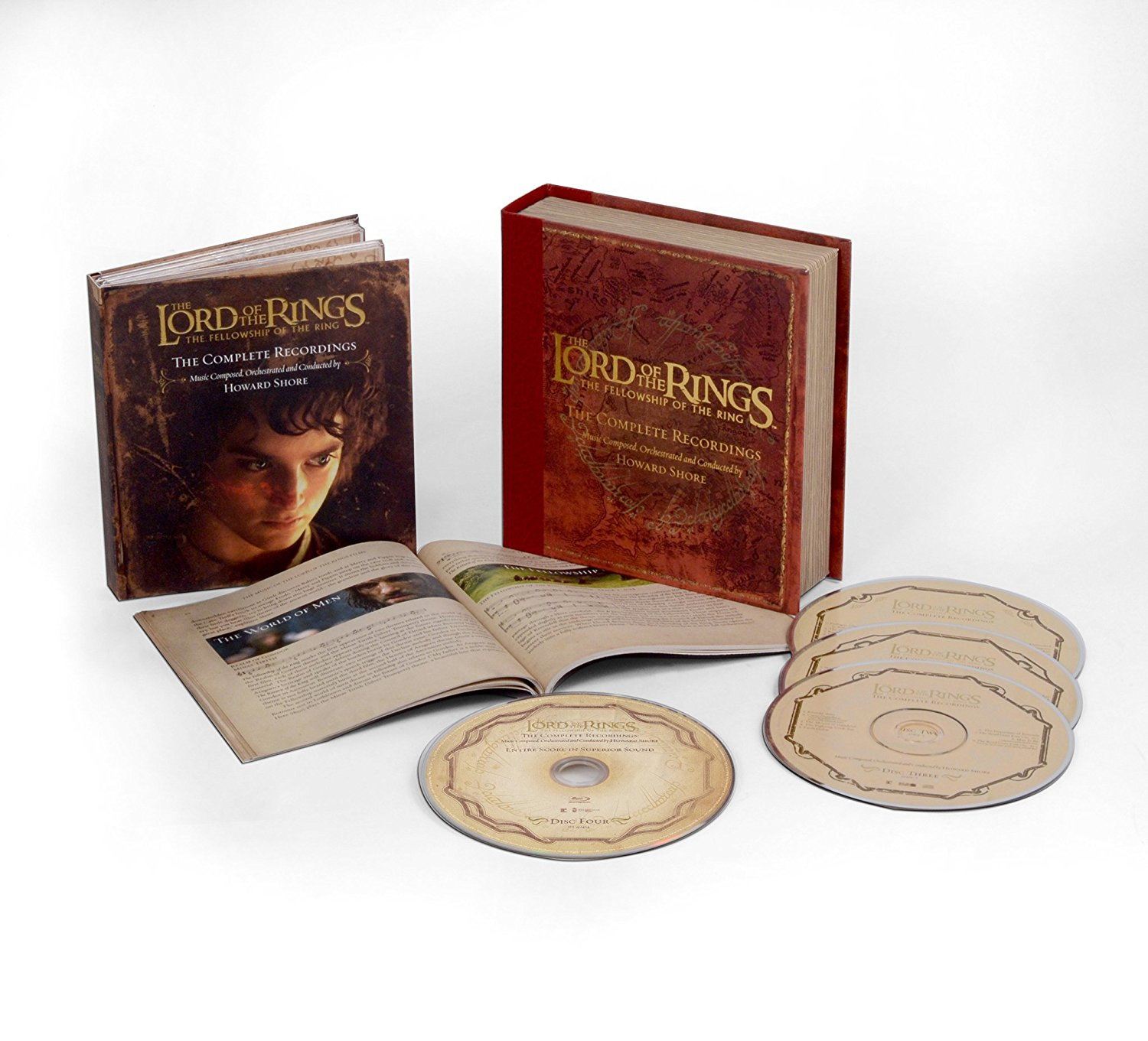 The Lord of the Rings: The Fellowship of the Rings CD Box Set