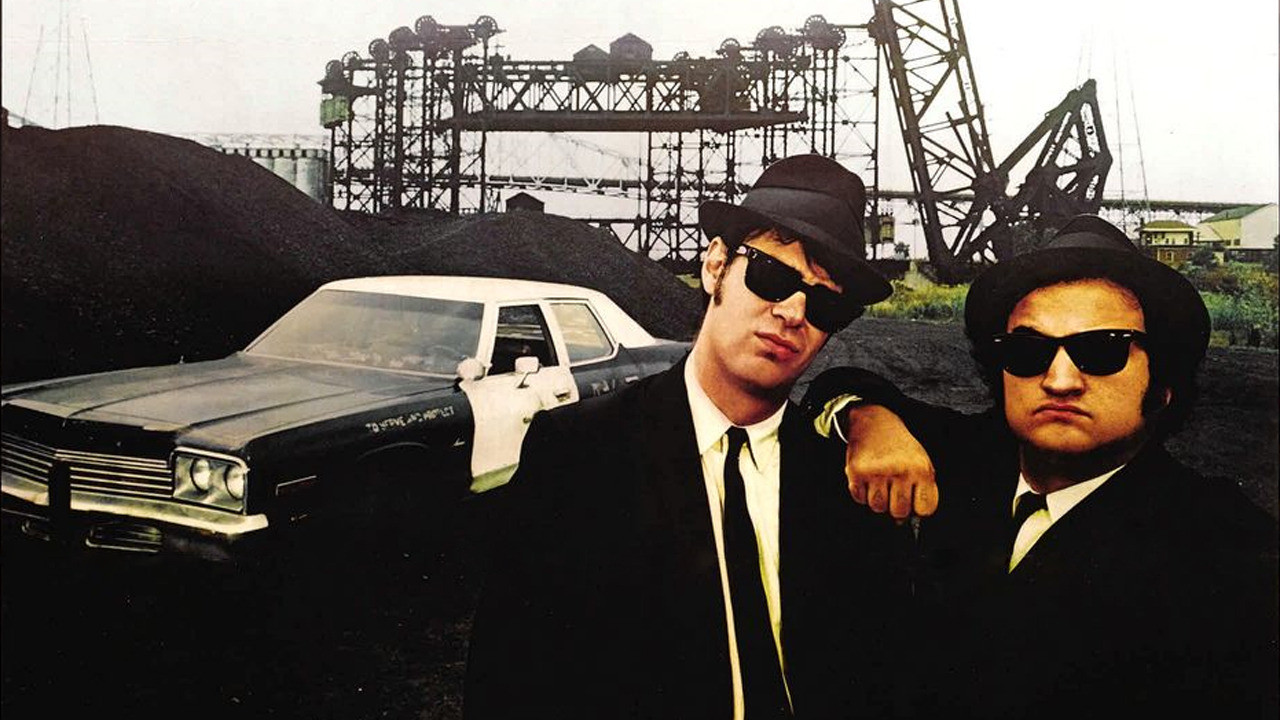 blue brothers ray ban wayfarers sunglasses shadesdaddy giggsey The 50 Greatest Rock and Roll Movies of All Time