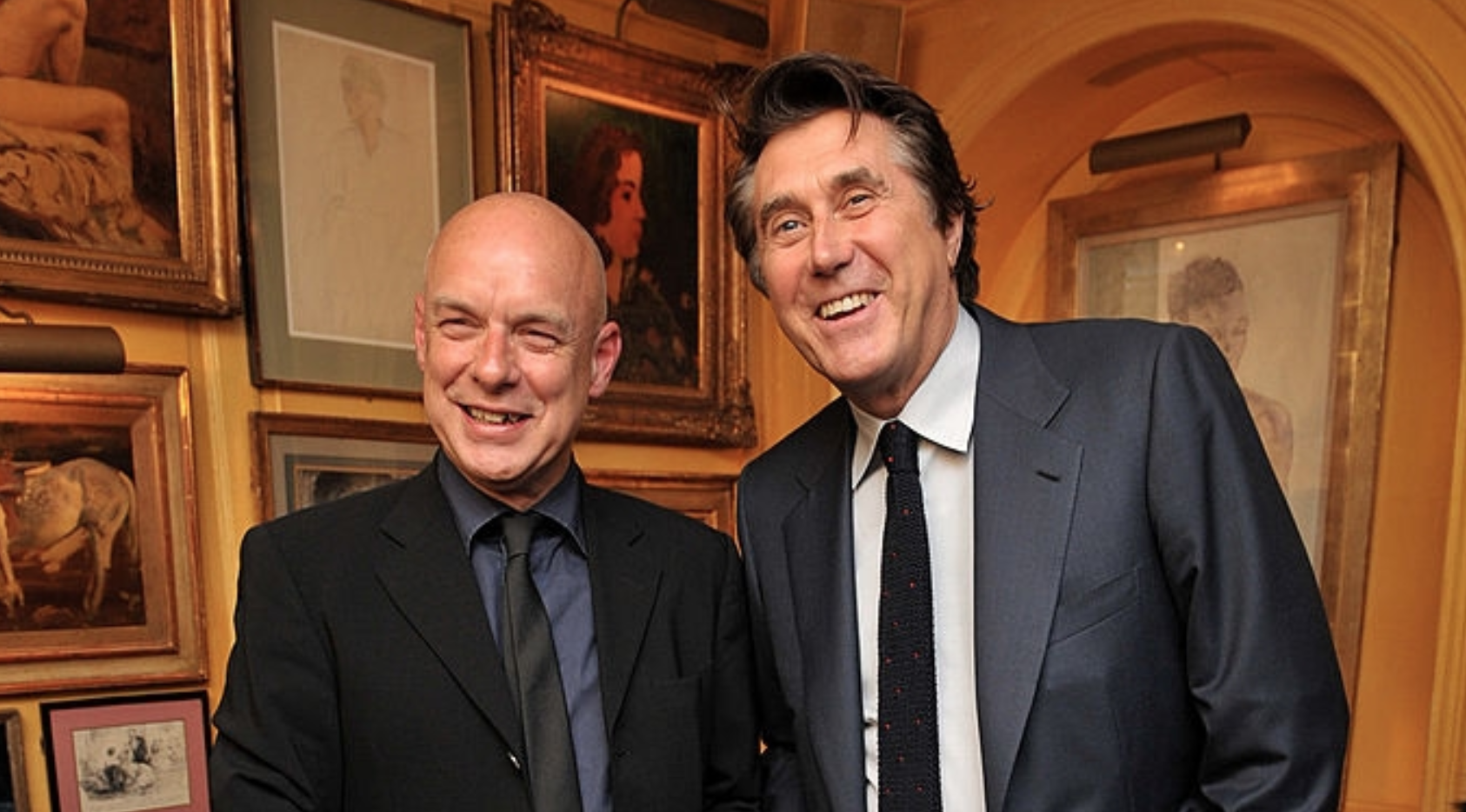 Image result for bryan ferry and brian eno