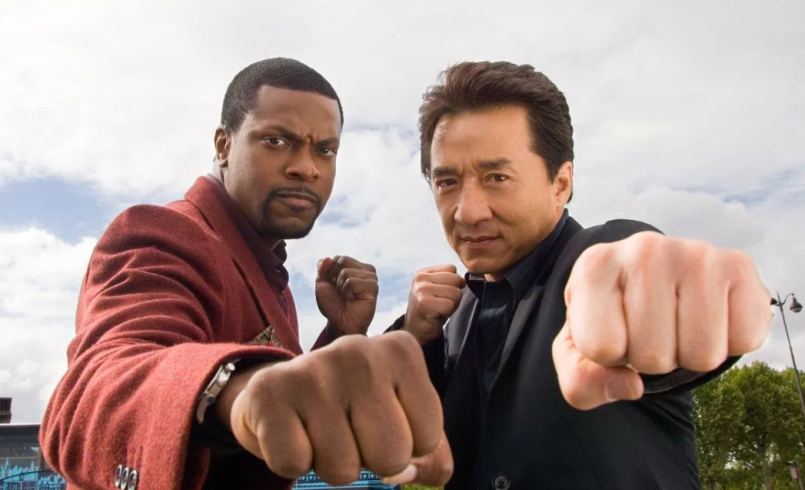 Chris Tucker and Jackie Chan Rush Hour 4