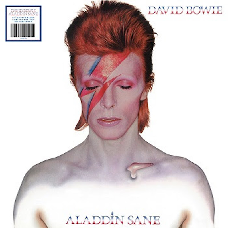 David Bowie - Aladdin Sane artwork