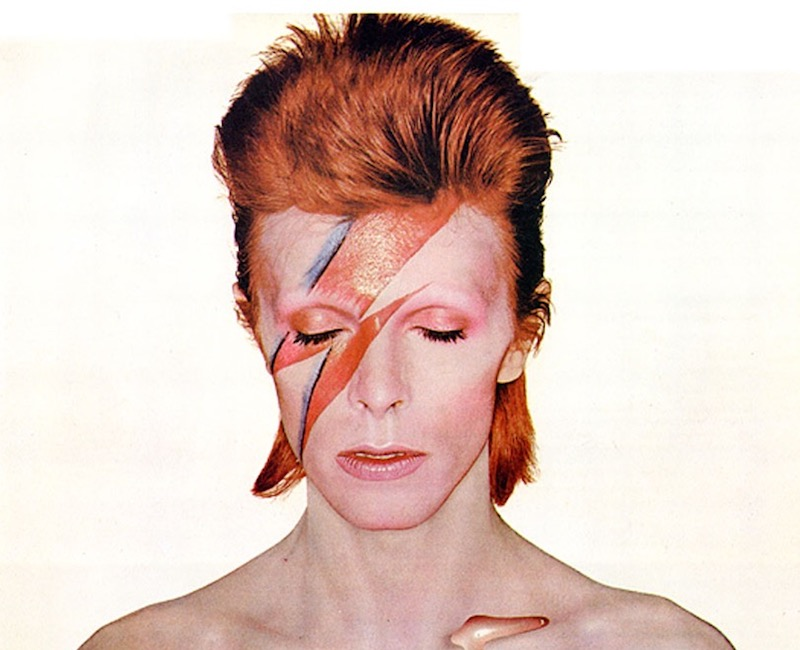 David Bowie S Aladdin Sane And Changestwobowie Receive
