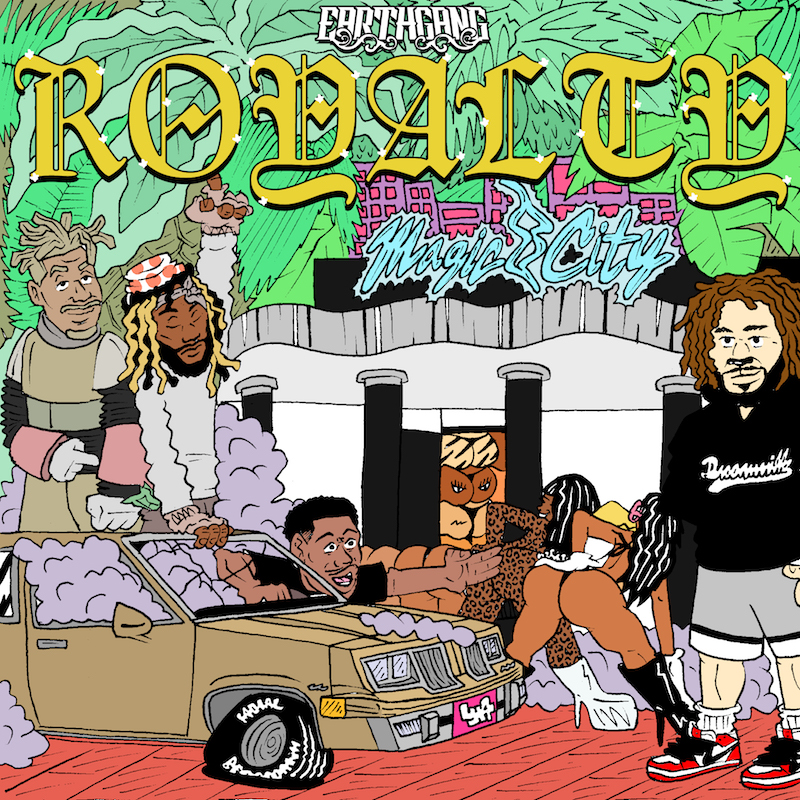 EarthGang -- Royalty EP