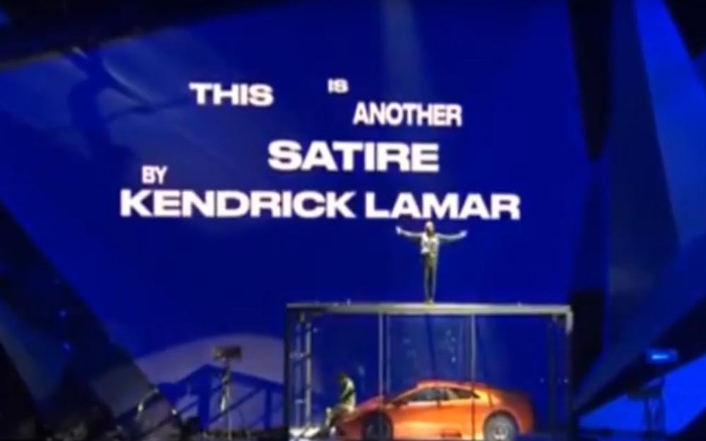 Kendrick Lamar at the 2018 BRIT Awards