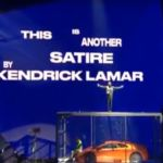 Kendrick Lamar at the 2018 BRIT Awards