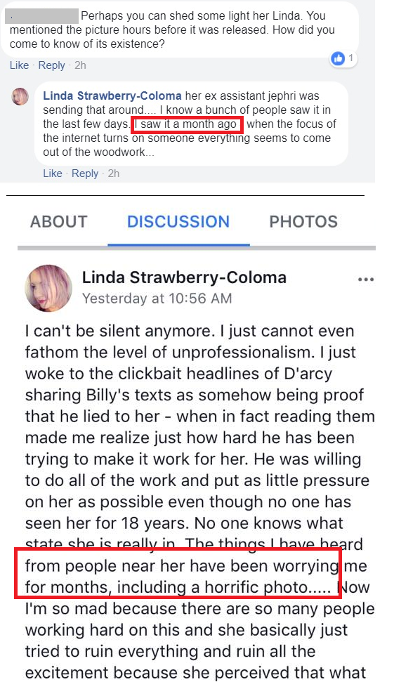 linda corgan1 Chicago radio DJ Mancow leaks horrific photo of Darcy Wretzky ahead of Smashing Pumpkins reunion announcement