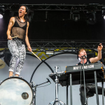 Matt and Kim, photo by Philip Cosores