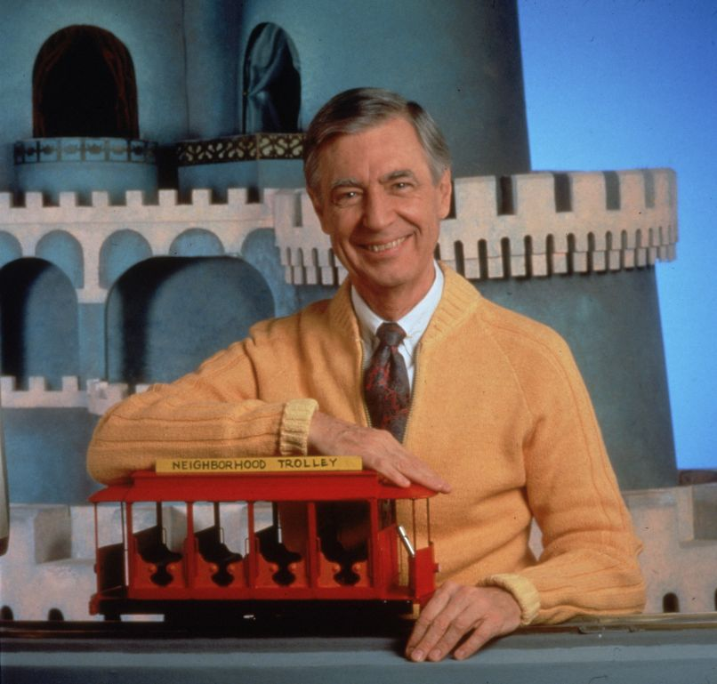Mister Rogers, by Fotos International