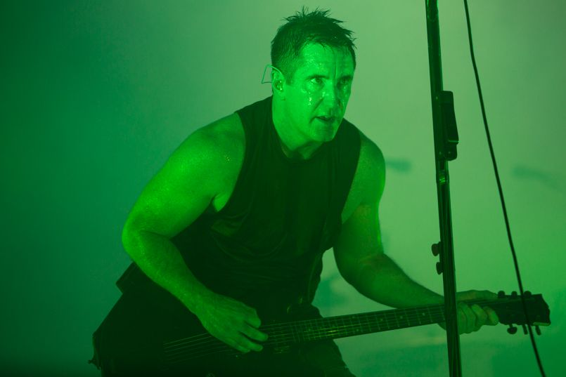 Trent Reznor, photo by Philip Cosores